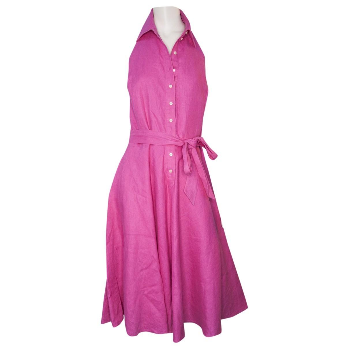 Lauren Ralph Lauren \N Kleid in  Rosa Baumwolle