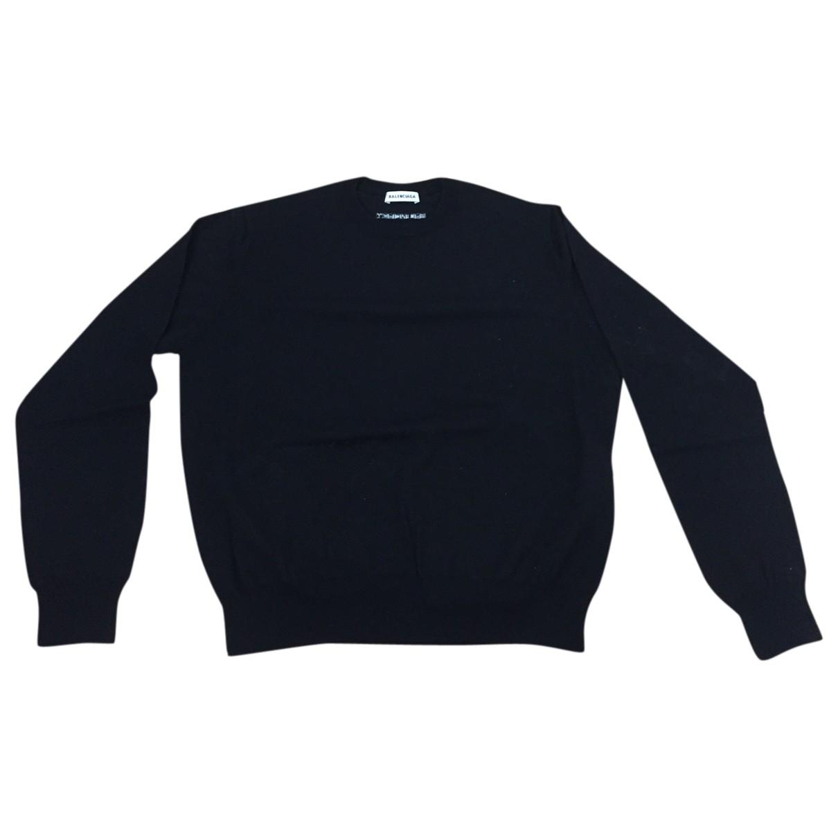 Balenciaga \N Black Wool Knitwear for Women XS International