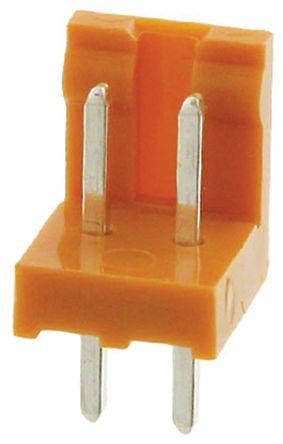 JAE , IL-G, 2 Way, 1 Row, Straight PCB Header (10)
