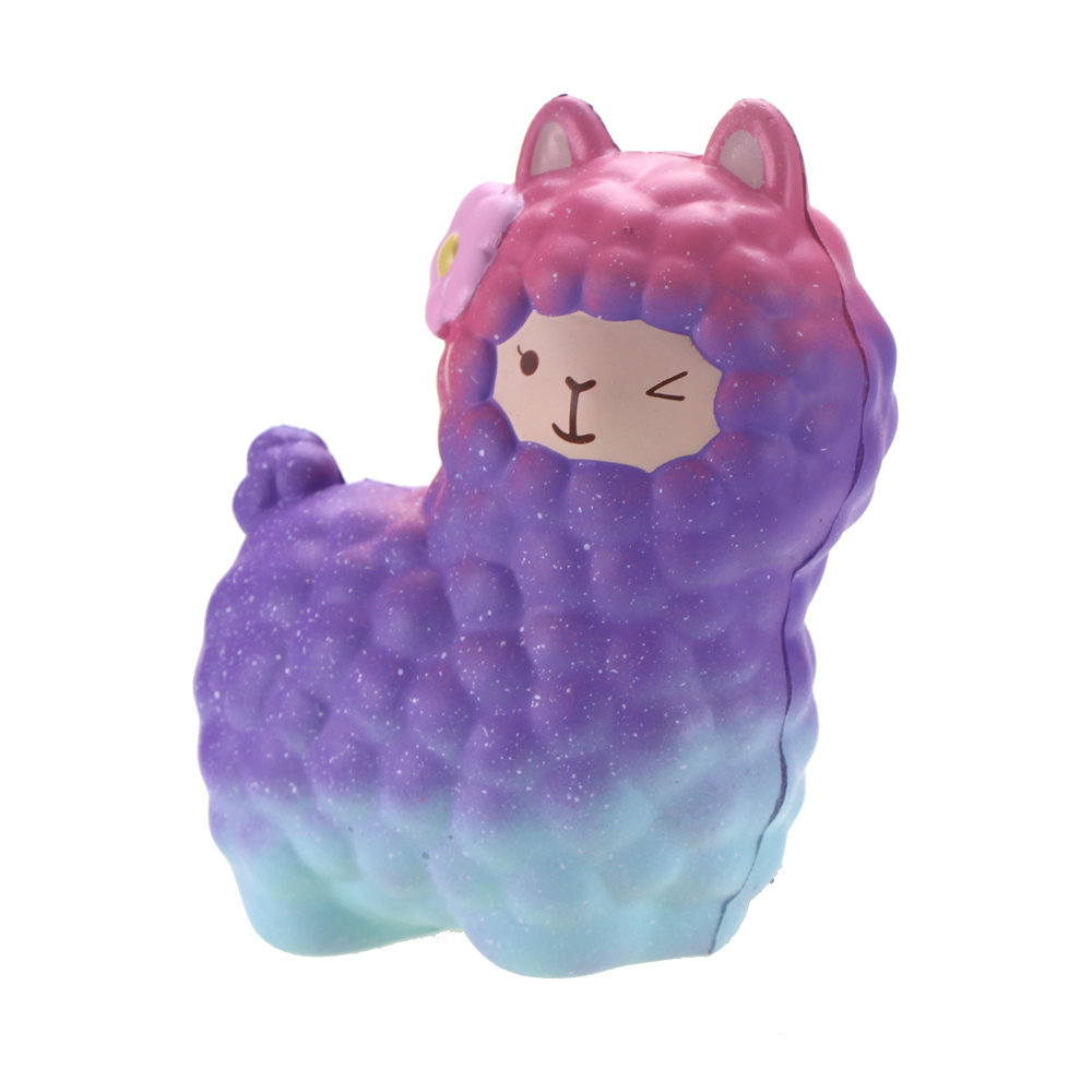 Vlampo Squishy Alpaca Slow Rising Original Packaging Collection Gift Decor Toy