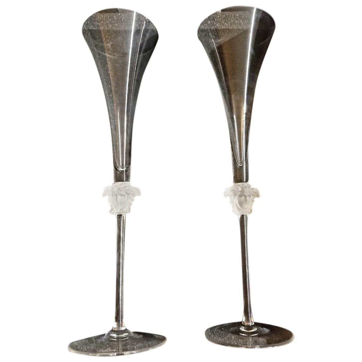Vaso de Cristal Versace