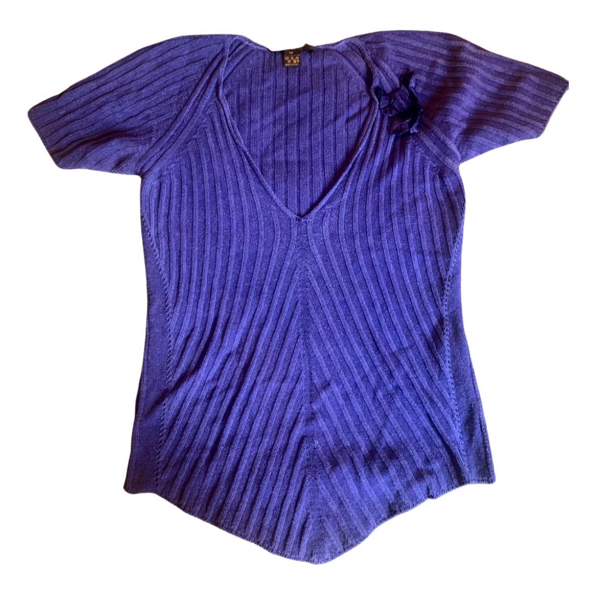 Louis Vuitton - Pull   pour femme en laine - violet