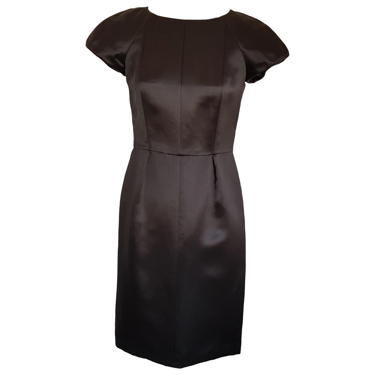 Chanel \N Black Silk dress for Women 38 FR