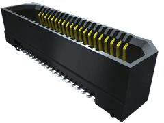 Samtec , ERF8 0.8mm Pitch 50 Way 2 Row Vertical PCB Socket, Surface Mount, Solder Termination (300)