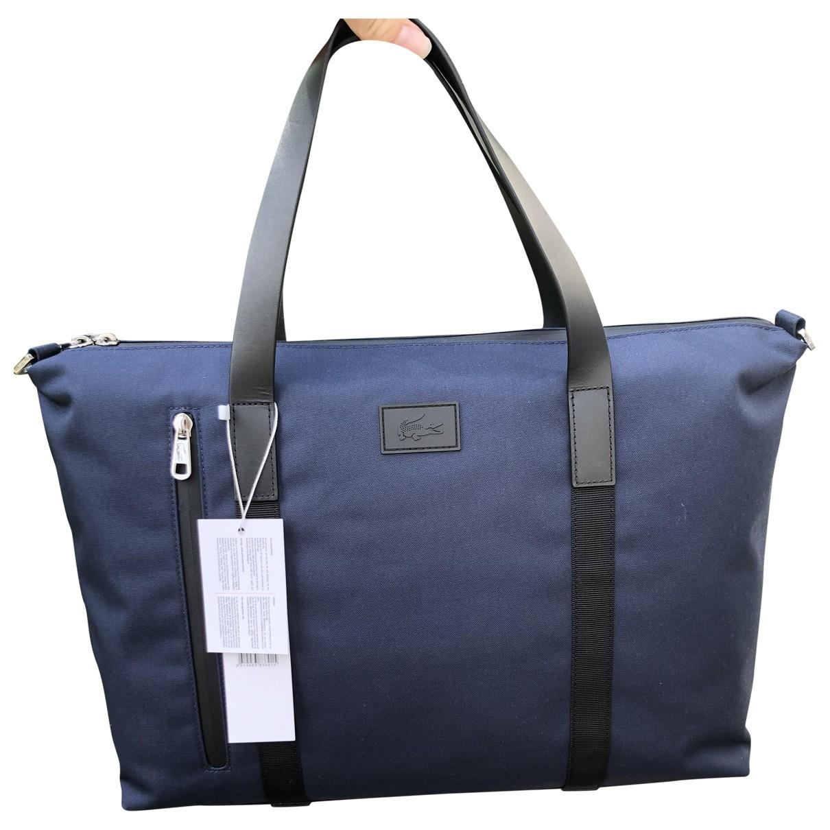Lacoste N Blue Cloth bag for Men N