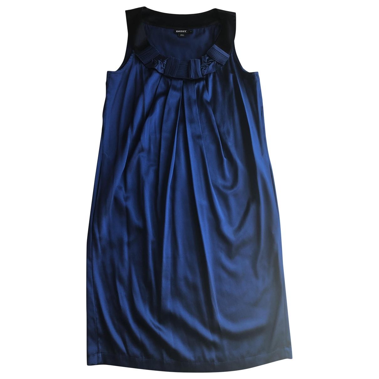 Dkny \N Blue Silk dress for Women XS International