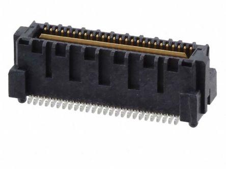 Samtec , QMS, 1 Row, Vertical PCB Header (56)