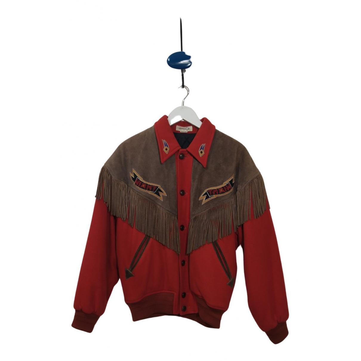 Kansai Yamamoto N Orange Wool jacket  for Men M International