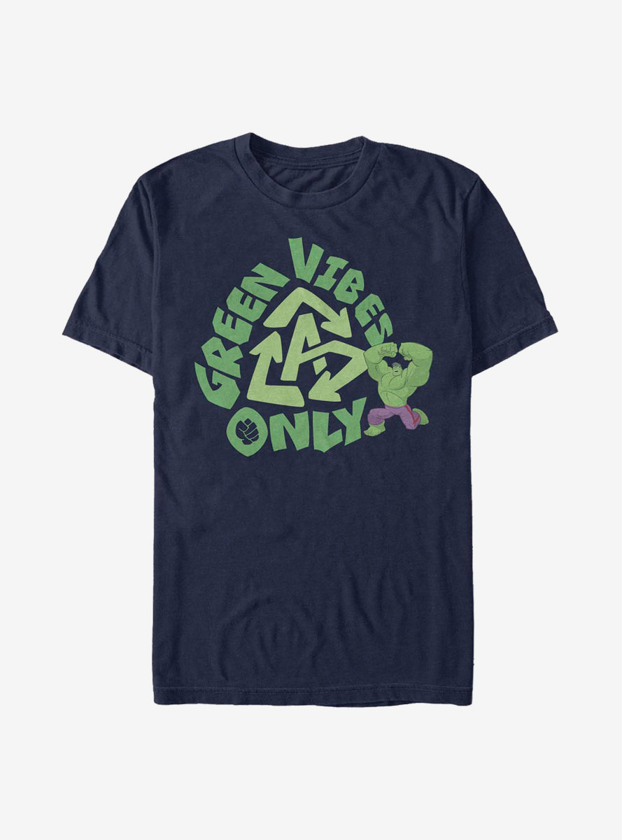 Marvel Hulk Green Vibes T-Shirt