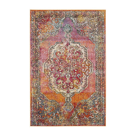 Safavieh Crystal Collection Brynn Oriental Area Rug, One Size , Multiple Colors