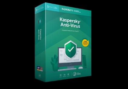 Kaspersky Anti Virus 2020 EU Key (2 Years / 5 PC)