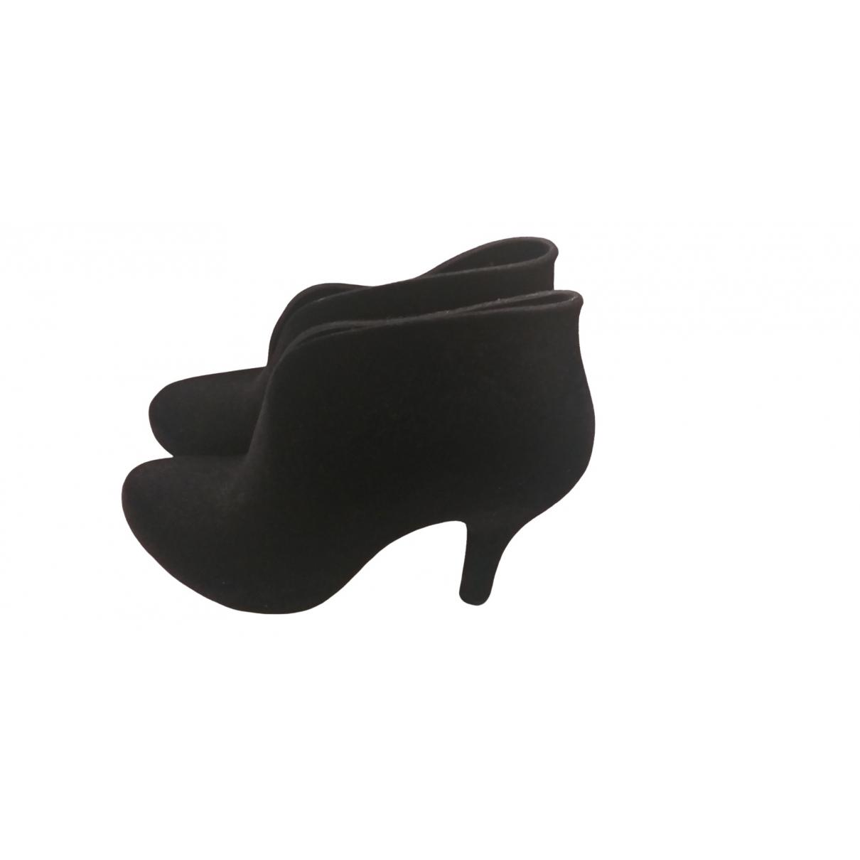 Melissa - Boots   pour femme en caoutchouc - noir
