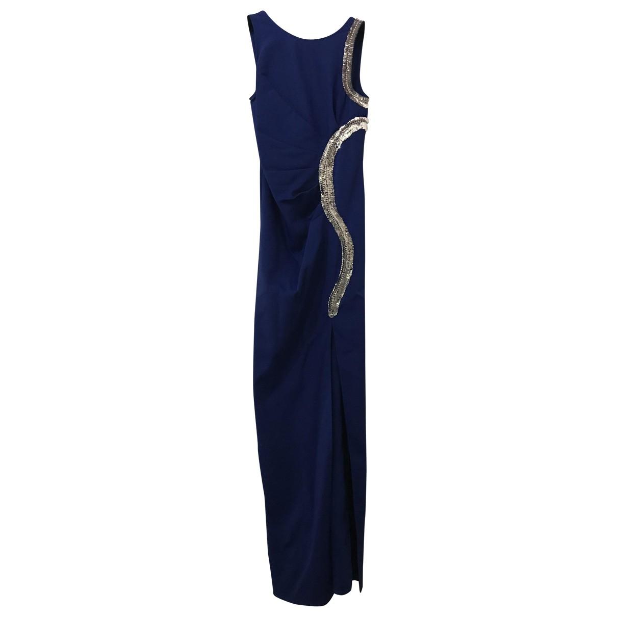 Flavio Castellani \N Kleid in  Blau Mit Pailletten