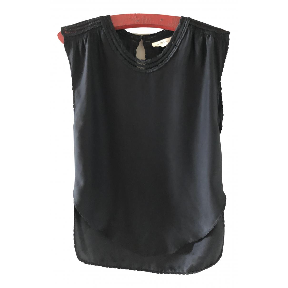 Isabel Marant Etoile \N Black Silk  top for Women 38 FR