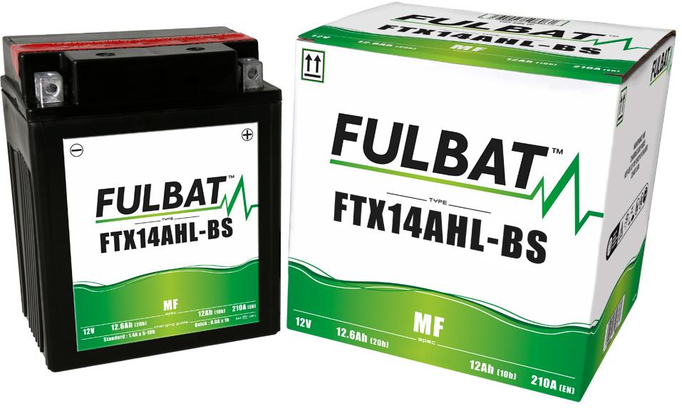 Fulbat FTX14AHL-BS Bateria De Motocicleta