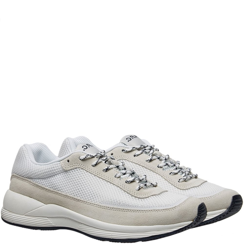 A.P.C Tennis Spencer Sneaker Colour: WHITE, Size: 6