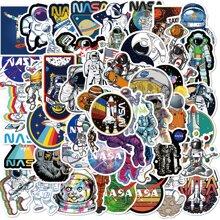 50pcs Astronaut Print Sticker