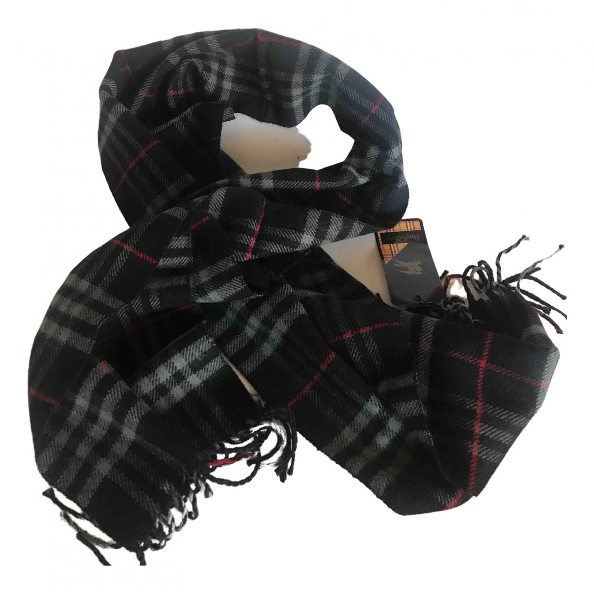 Burberry \N Tuecher, Schal in  Marine Wolle