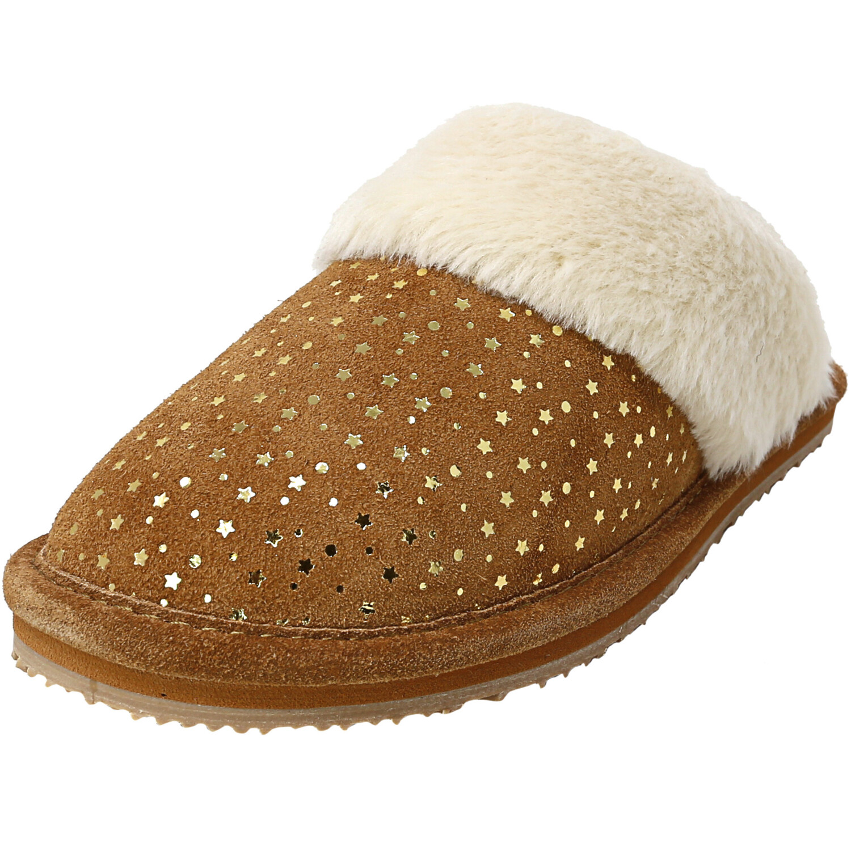 Rockport Women's Gold Star Tan Leather Slipper - 5M