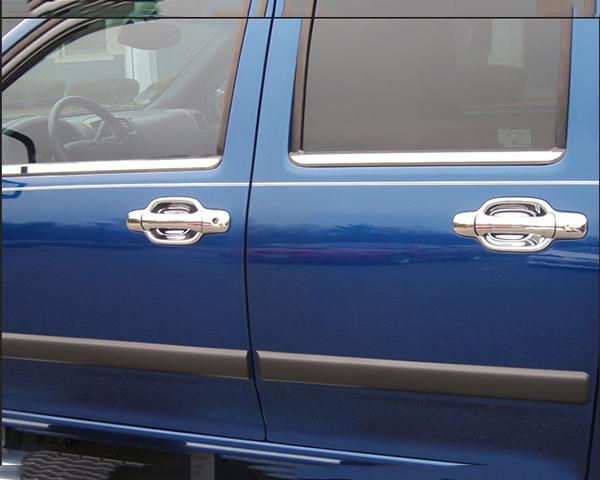 Quality Automotive Accessories 4-Piece Window Sill Trim Chevrolet Colorado 2005