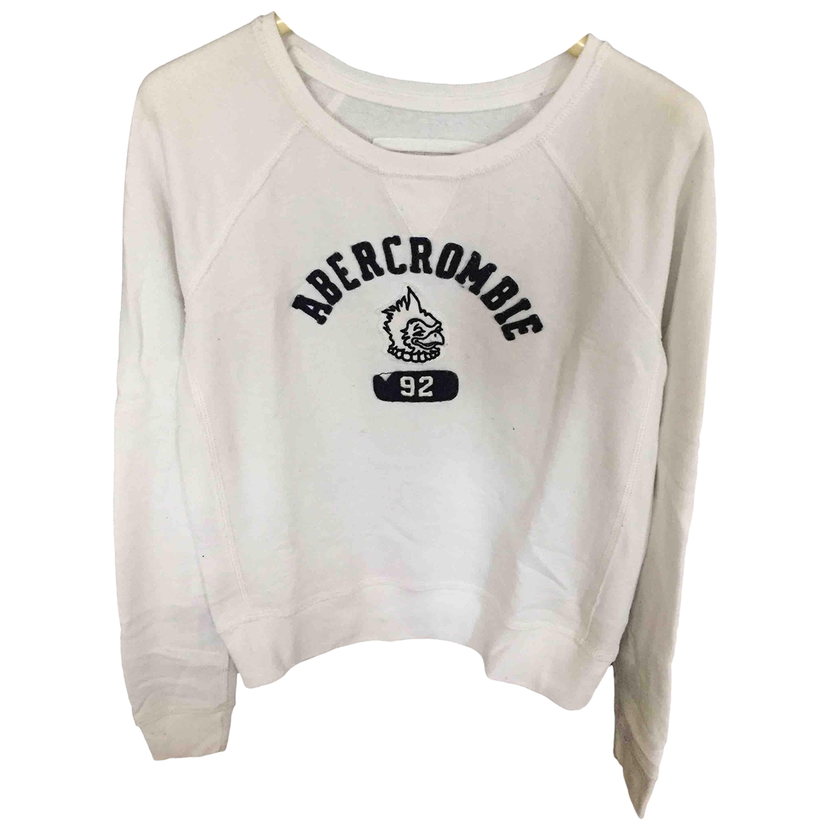 Abercrombie & Fitch \N White Cotton Knitwear for Kids 20 years - XL FR