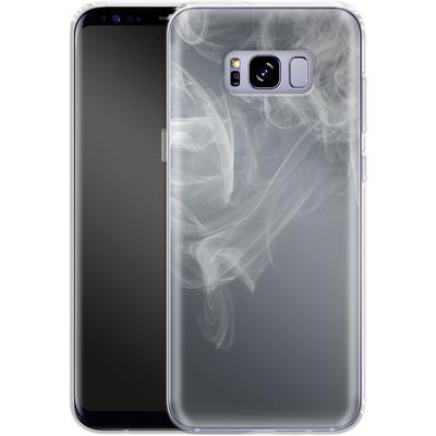 Samsung Galaxy S8 Plus Silikon Handyhuelle - Smoking von caseable Designs