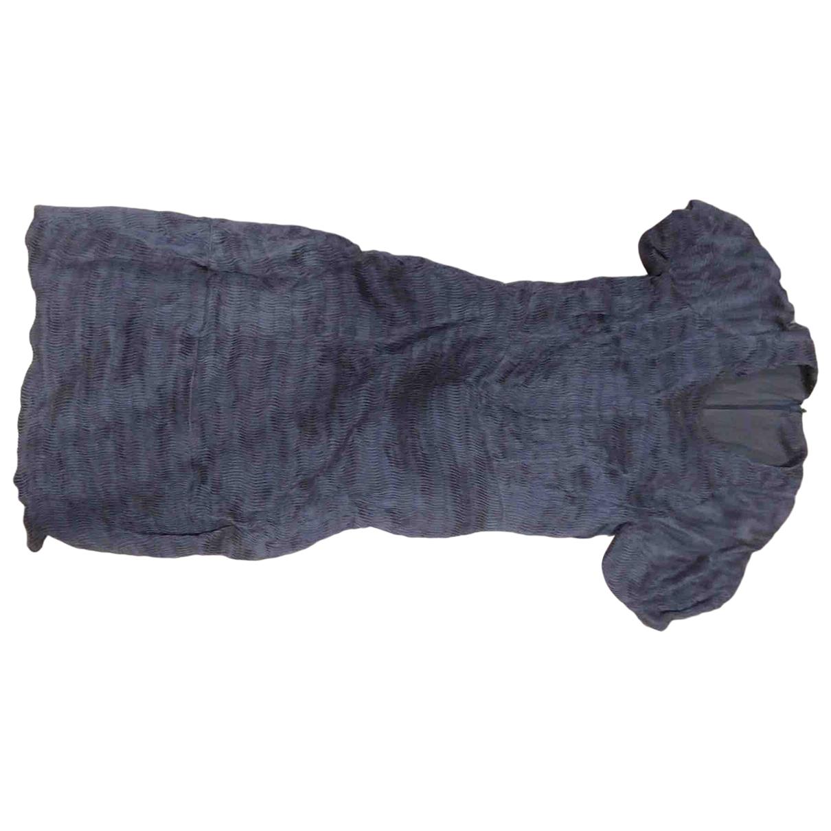 Burberry - Robe   pour femme en soie - gris