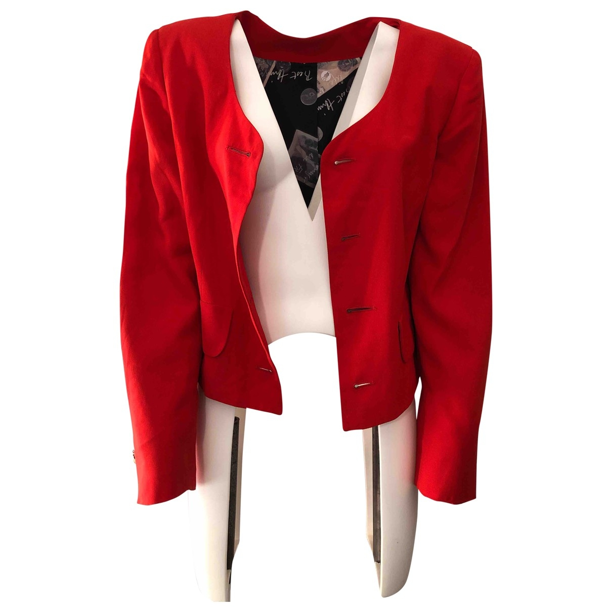 Moschino Love \N Red jacket for Women 44 IT
