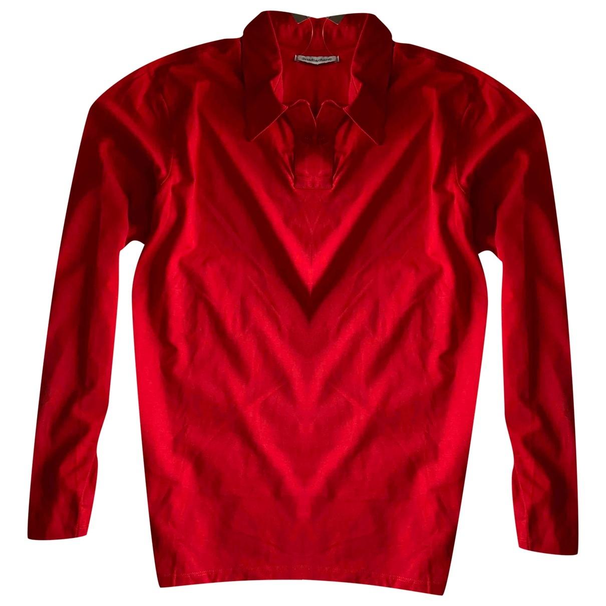Cacharel - Polos   pour homme en coton - rouge