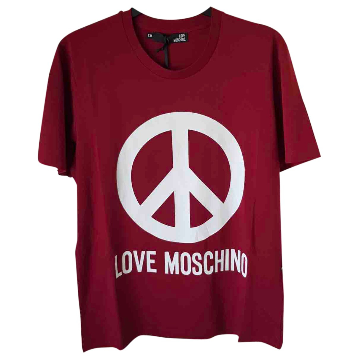 Moschino Love \N T-Shirts in  Rot Baumwolle