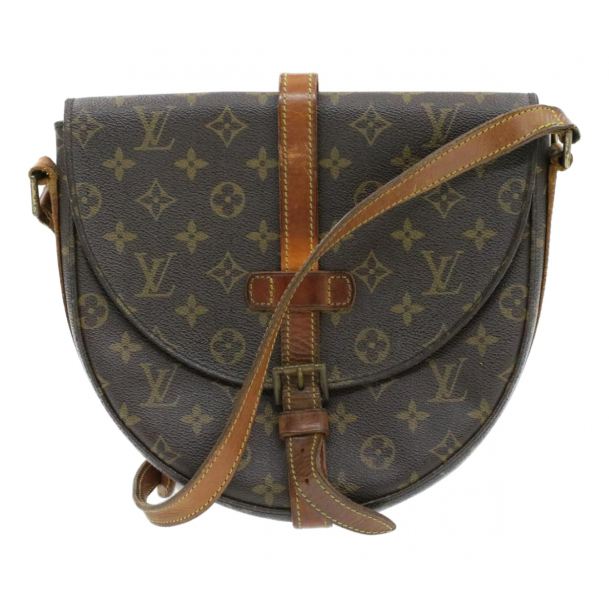 Louis Vuitton - Sac a main Chantilly pour femme en toile - marron