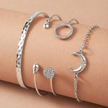 4pcs Cuff Bangle Pack