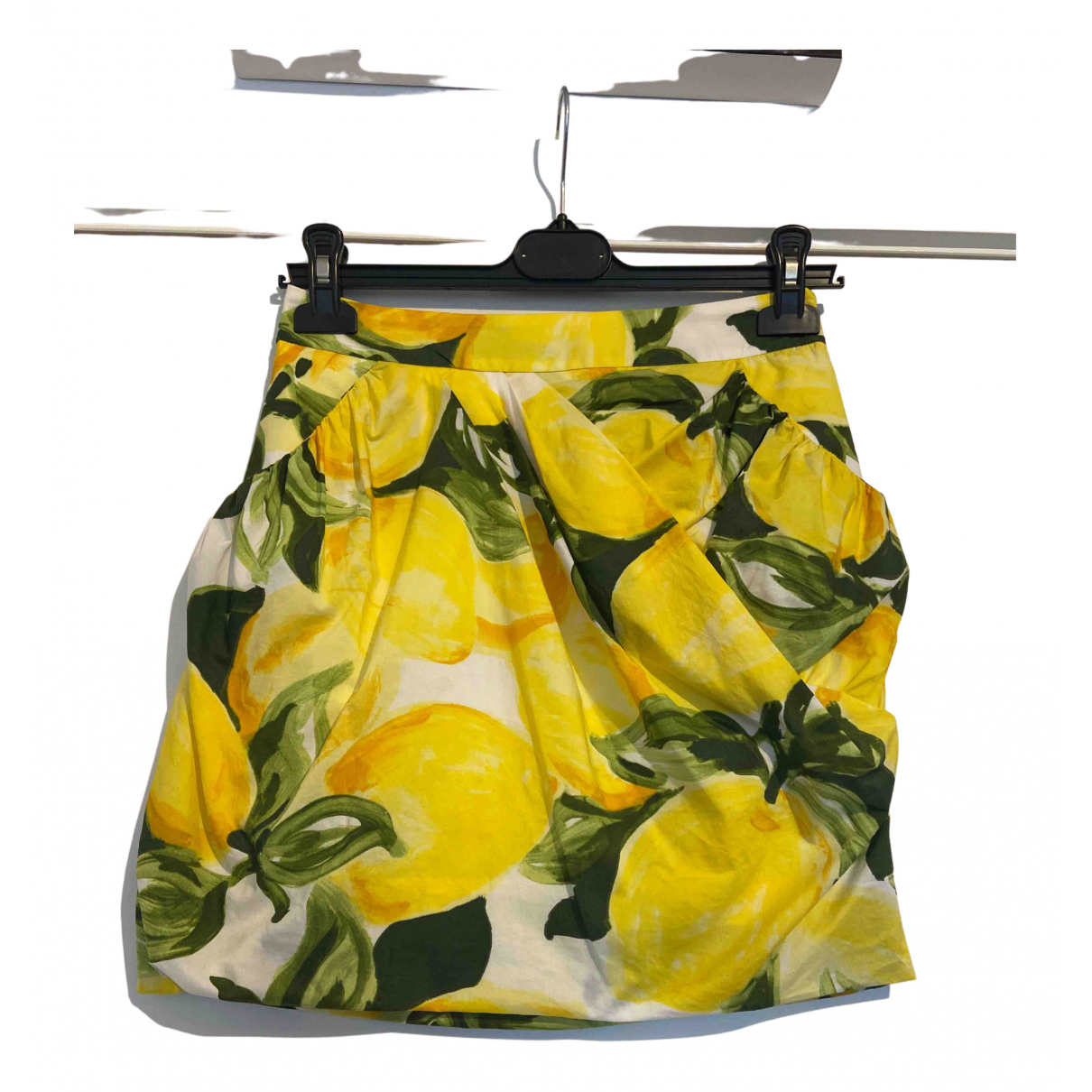 Moschino Cheap And Chic - Jupe   pour femme - jaune