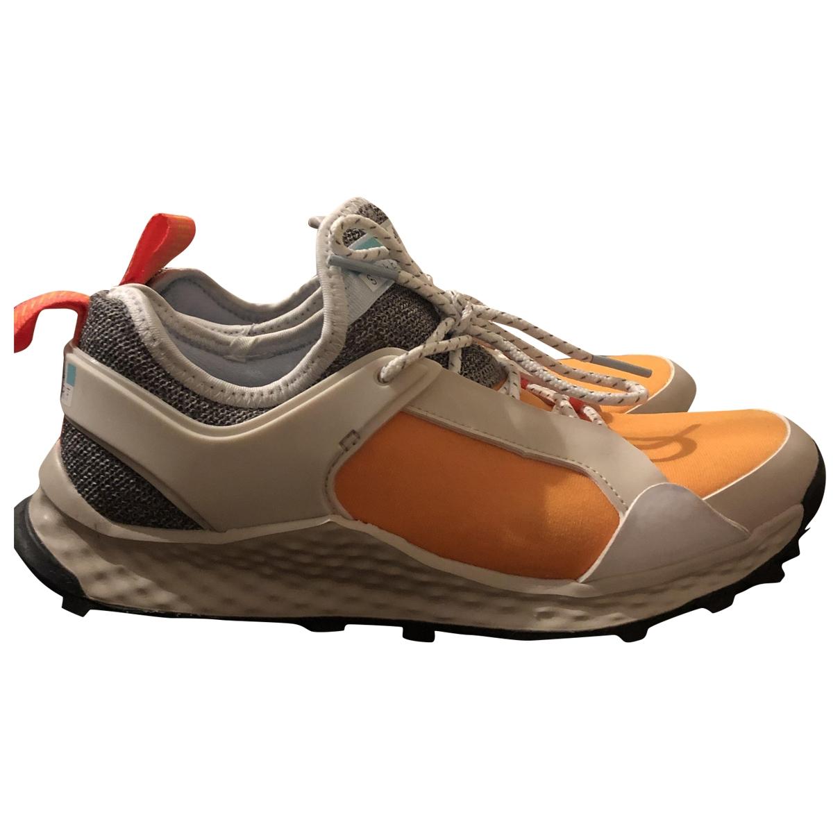 Adidas - Baskets   pour femme en toile - orange
