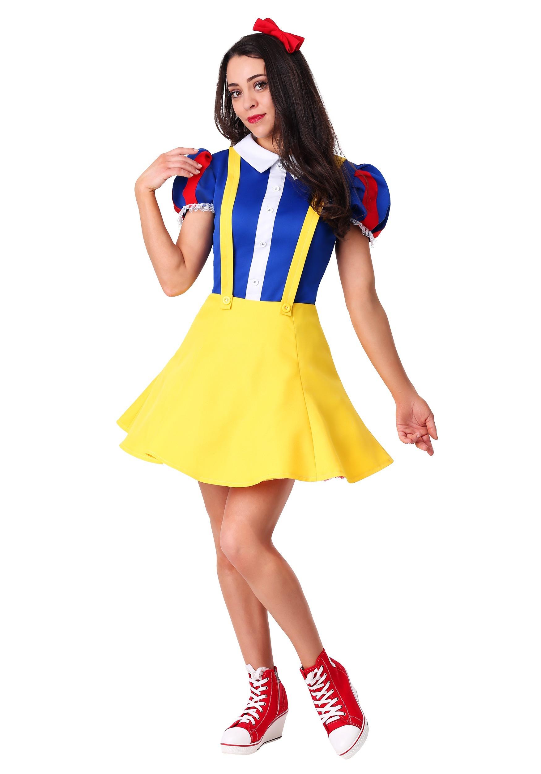 Womens Hip Snow White Costume
