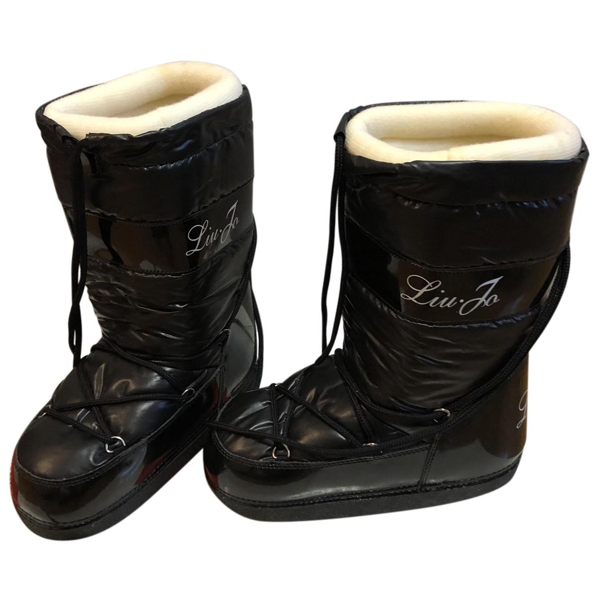 Liu.jo N Black Boots for Women 39 EU