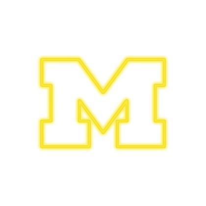 390-3009 University of Michigan Neon