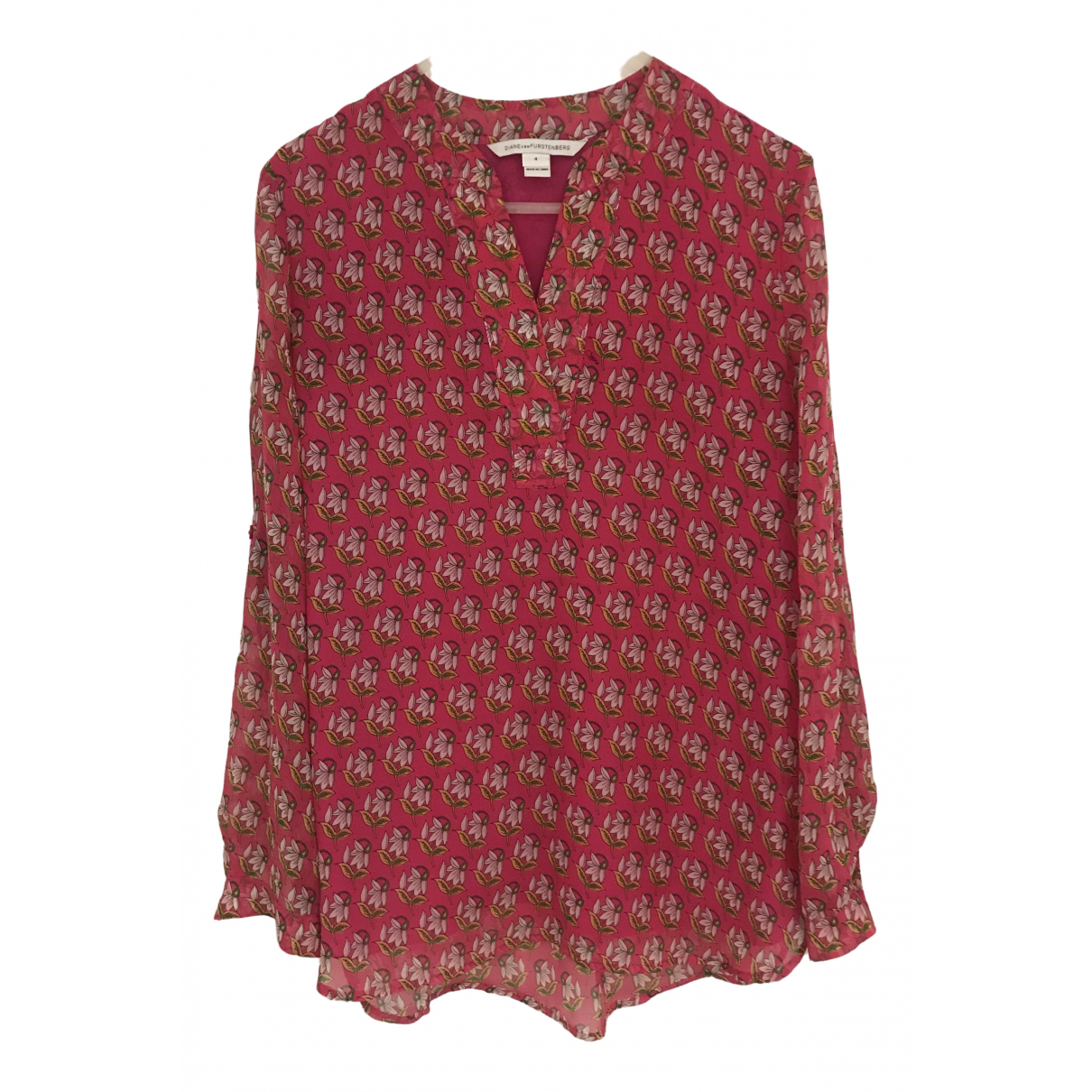 Diane Von Furstenberg \N Pink  top for Women 4 US