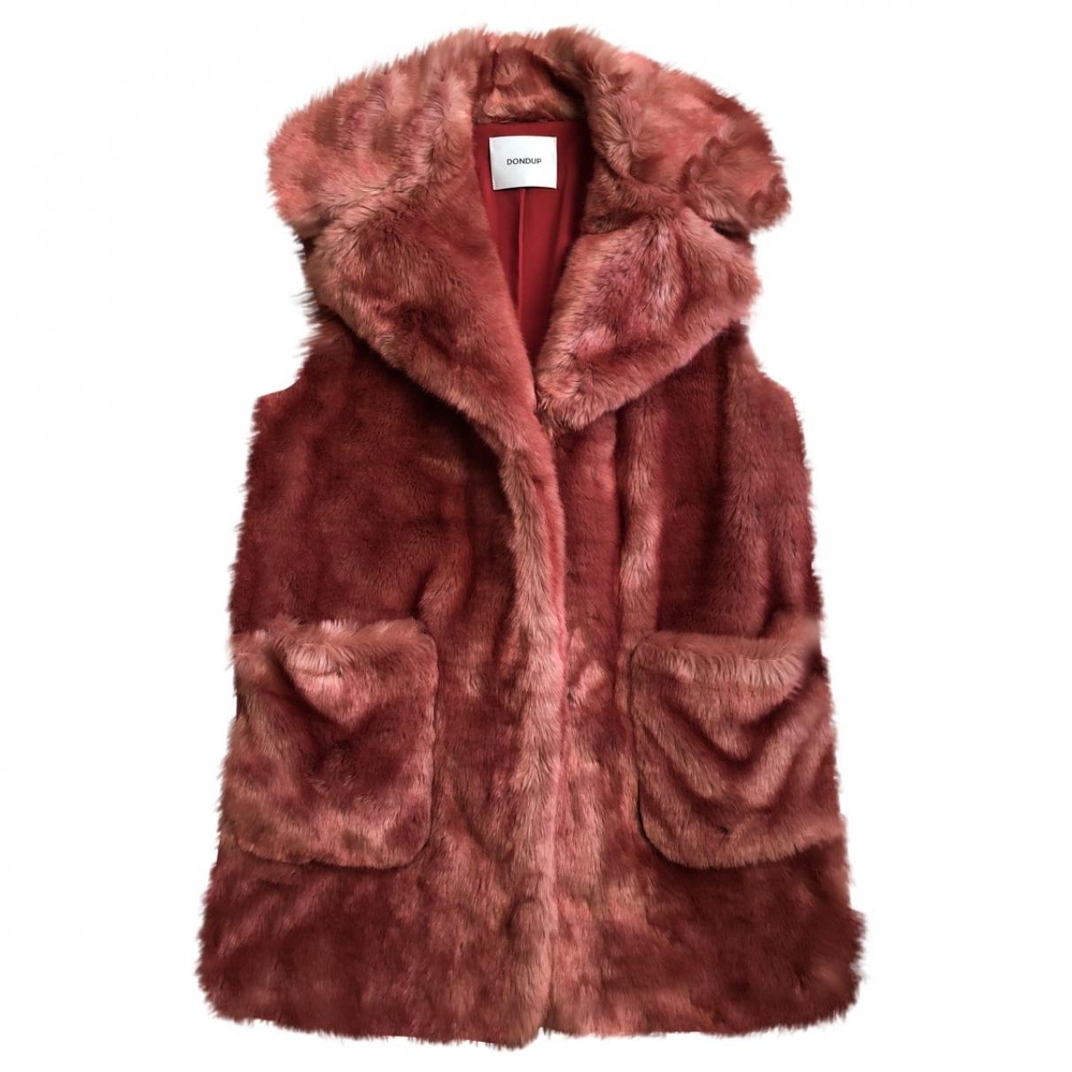 Dondup \N Pink Faux fur coat for Women 40 IT