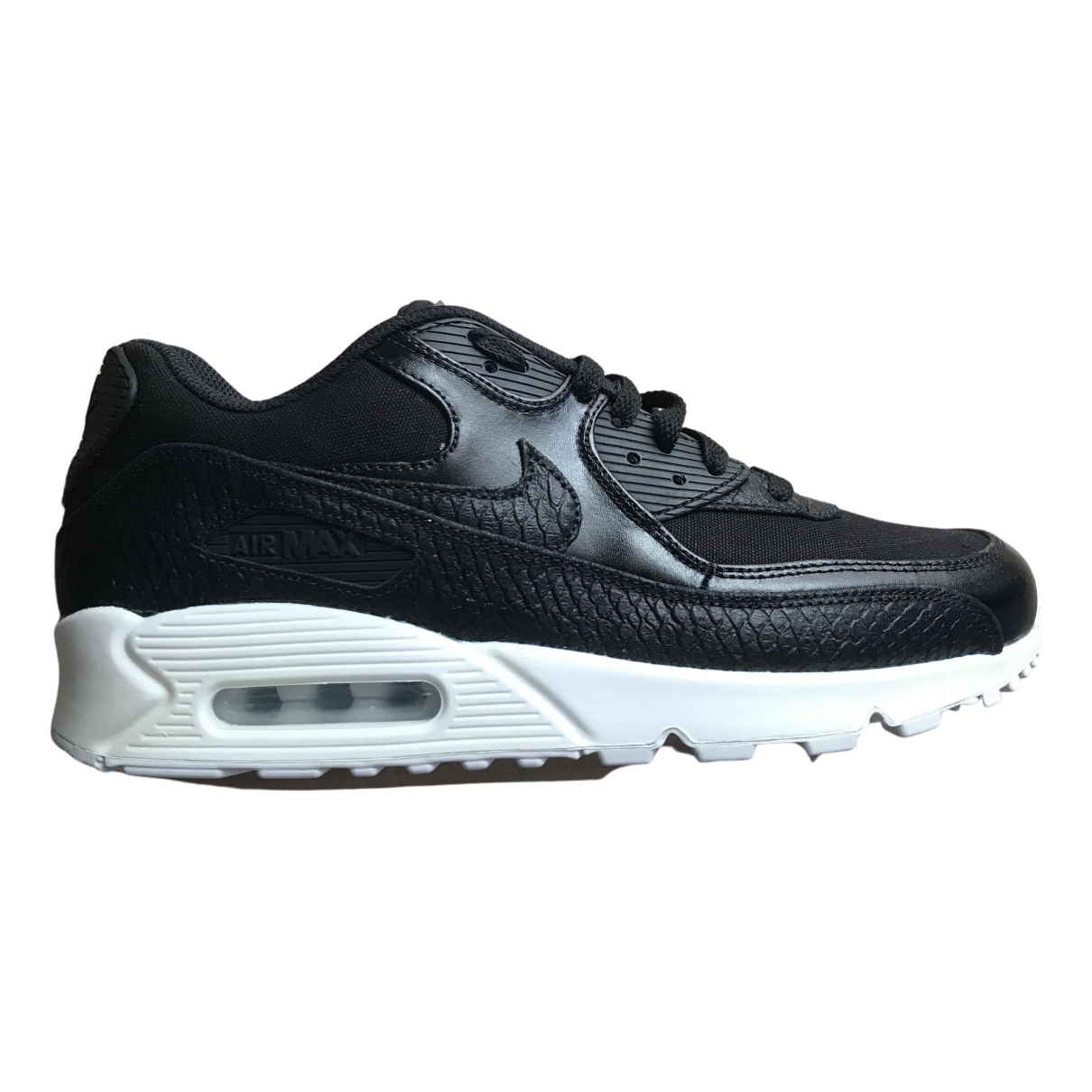Nike Air Max 90 Sneakers in  Schwarz Leder