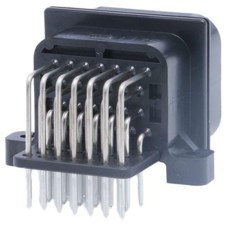 TE Connectivity , SUPERSEAL Automotive Connector Plug 4 Row 26 Way, Solder Termination