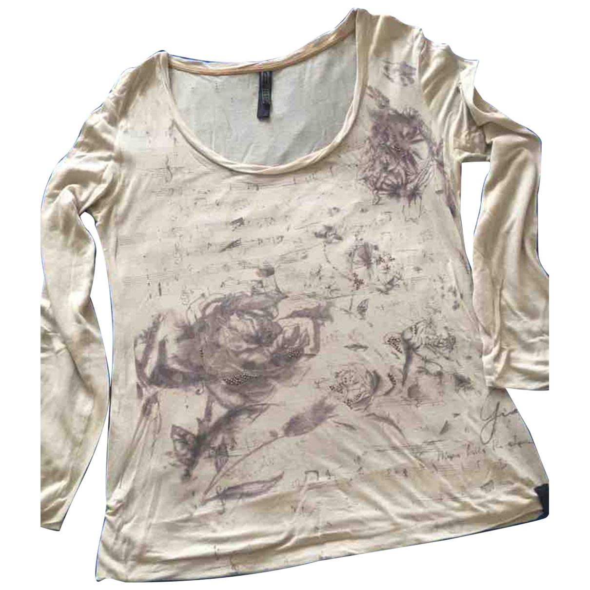 Guess - Top   pour femme en coton - gris