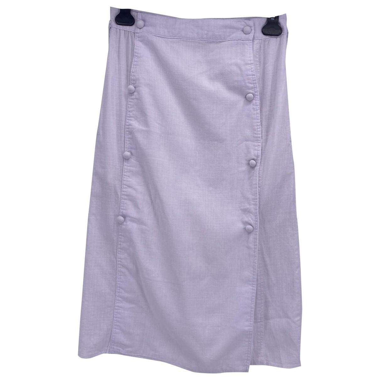 House Of Sunny - Jupe   pour femme en coton - blanc