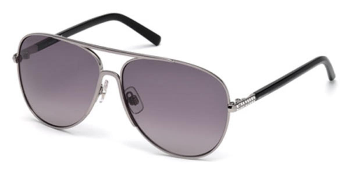 Swarovski SK0138 14B Women's Sunglasses Grey Size 59