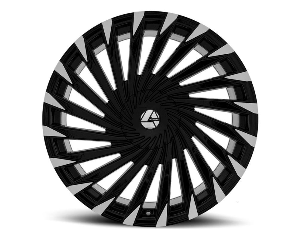 Azara 501 Wheel 26x9.5 5x115|5x120 15mm Gloss Black Machined