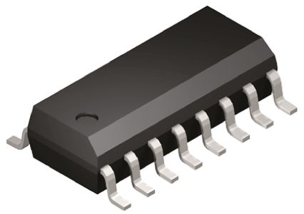 Vishay DG442DY-E3 , Analogue Switch Quad SPST, 15 V, 18 V, 24 V, 28 V, 16-Pin SOIC (5)