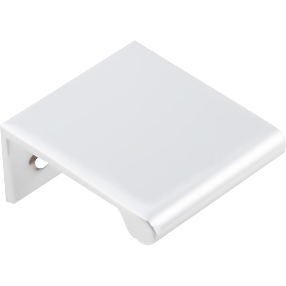 Edgefield Tab Pull, 16 mm C/C, Polished Chrome