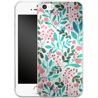Apple iPhone 5 Silikon Handyhuelle - Bright Foliage von Iisa Monttinen