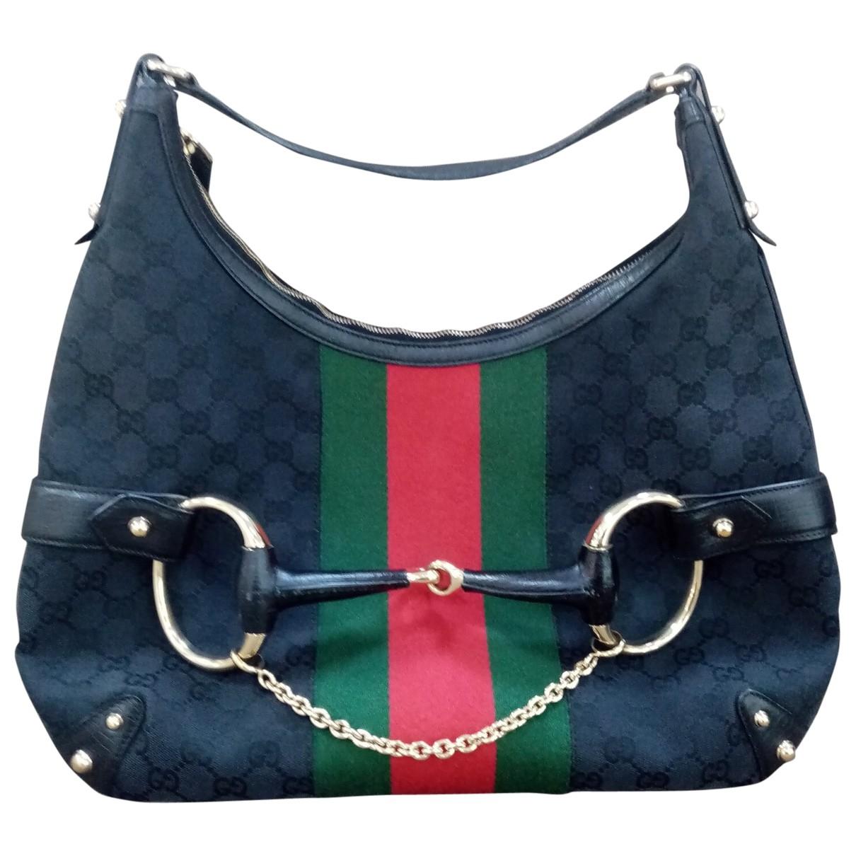 Gucci \N Black Cloth handbag for Women \N