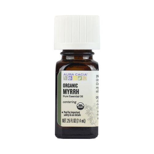 Organic Myrrh Essential Oil .25 Oz by Aura Cacia
